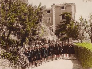 Educande nel 1955-1956