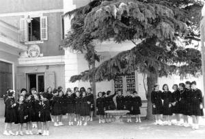 Educande nel 1956