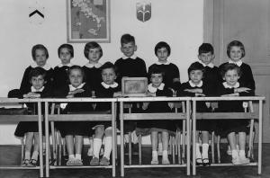 Classe prima nel 1961