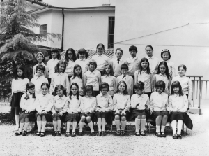 Classe terza nel 1970-1971
