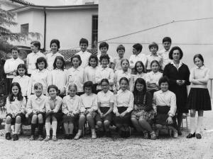 Classe quinta nel 1970-1971